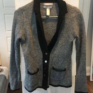 Banana Republic Italian Wool Blazer / sweater